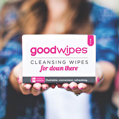 Cleansing Wipes for Down There