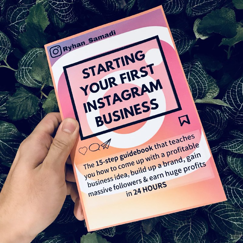 How to start your own instagram book