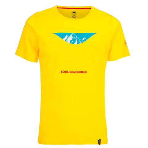La Sportiva Soul Searching T-Shirt - Men's Cotton
