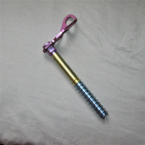Vintage 20cm Alvo Titanium Ice Screw