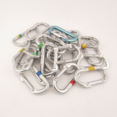Oval and D Carabiners