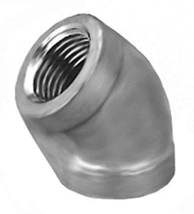 Stainless Steel Equal Female 45° Elbow