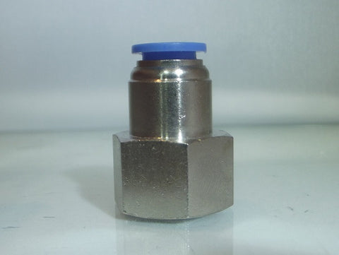 Female Stud Push In Fitting, BSPP
