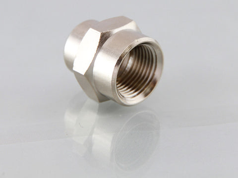 Female Unequal Socket - Nickel Plated Brass, BSPP
