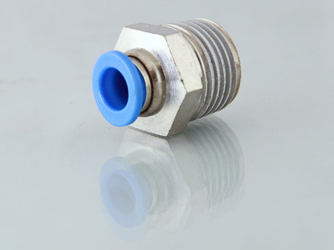 Male NPT Metric Push Fit Stud