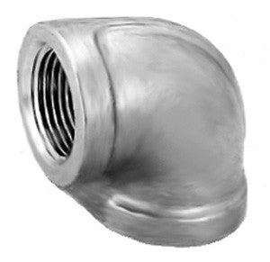Stainless Steel Equal Female Elbow, BSPP