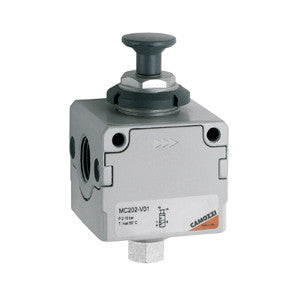"Camozzi, MC Series 3-Way Lockable Isolation Valve, 1/4"" BSP"