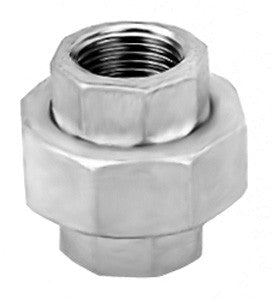 Stainless Steel Equal Hexagon Female Union, BSPP