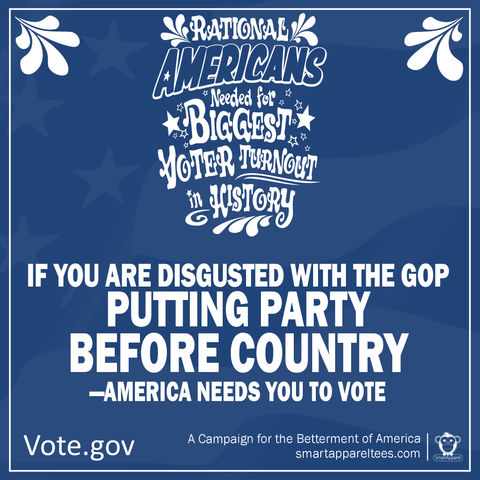 GOP putting Country before party
