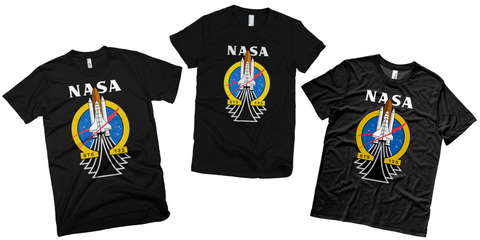 NASA t shirts STS 135 mission the final voyage shirt