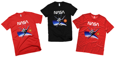 NASA t-shirts STS 7 mission