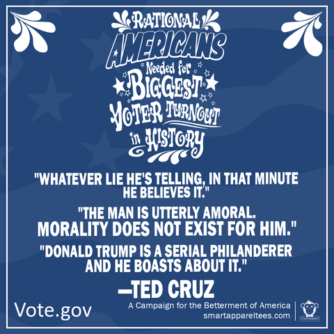 Ted Cruz quotes about Donald Trump