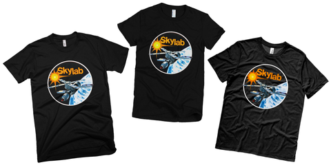 NASA skylab t shirts