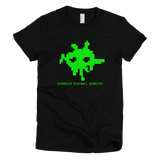 8-bit FSM t shirt women's (Black)