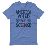 America Voted for Science | Biden Harris Inauguration tee shirt