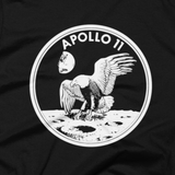 NASA Apollo 11 moon landing tee shirt