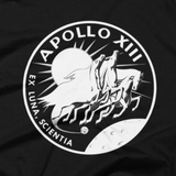 NASA T-Shirt - Apollo 13 Insignia Graphic t shirt (Close-Up)