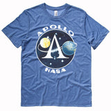 Apollo Space Program insignia t shirt