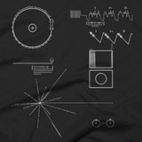 Voyager Golden Record t shirt