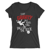 Womens Gravity T-Shirt—Pigville Productions