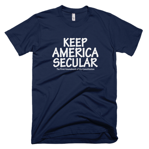 Keep America Secular shirt (Navy)