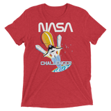 NASA T-Shirt - STS-8 Mission Inspired | Space Shuttle Challenger graphic red tee
