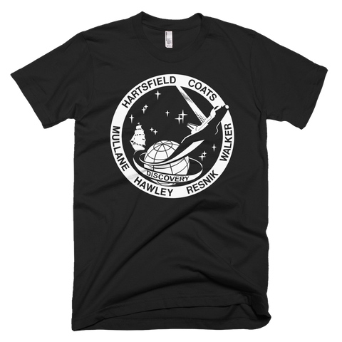 NASA Discovery T-Shirt - STS 41 D graphic tee