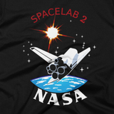 NASA T-Shirt - Inspired by the Insignia for NASA's STS-51-F Mission (Close-Up)