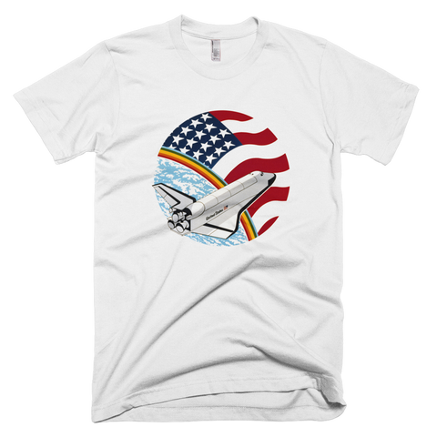 NASA T-Shirt - STS 61 B Space Shuttle mission graphic tee