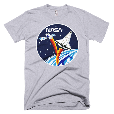 NASA T-Shirt - STS-37 Mission Inspired graphic tee w/ Worm logo