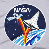 NASA T-Shirt - STS-37 Mission Inspired graphic tee w/ Worm logo image