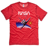 NASA T-Shirt - STS-7 Mission Inspired graphic tee