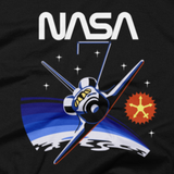 NASA T-Shirt - Inspired by the NASA STS-7 Mission Patch (Close-Up)