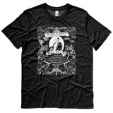 Charles Darwin Origin of Species graphic t shirt