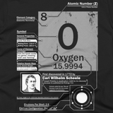 Oxygen t shirt (close-up)