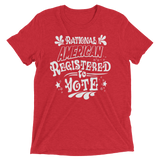 Rational American Registered to Vote—Blue Wave Campaign shirt