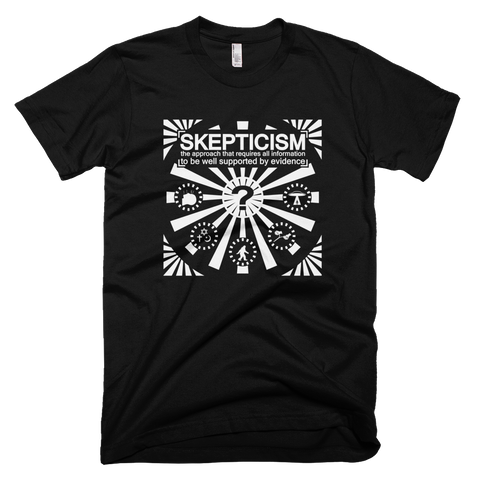 Skepticism shirt (Black)