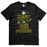 STAR WARS t-shirt - Keep Calm and Use the Force