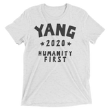 YANG 2020 For President | Humanity First white tee shirt