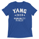 YANG 2020 For President | Humanity First tee shirt