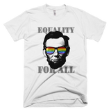 Ab Lincoln EQUALITY FOR ALL tee (White)