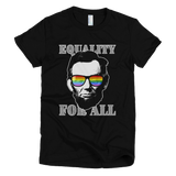 Ab Lincoln EQUALITY FOR ALL tee Women's (Black)