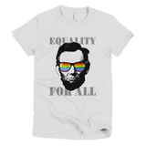 Ab Lincoln EQUALITY FOR ALL tee Women's (White)