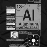 Aluminum t shirt (Close-Up)