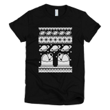 Astronomy Holiday (Pixelated) tee