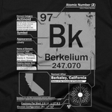 Berkelium t shirt close-up