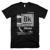 Berkelium t shirt (Black)