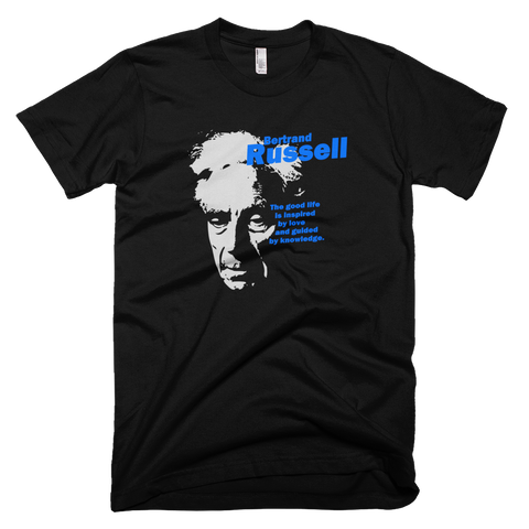The Good Life - Bertrand Russell shirt