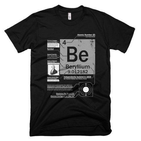 Beryllium Be 4 | Element t shirt