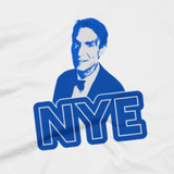 Bill Nye shirt close-up